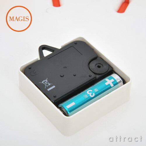 MAGIS マジス TEMPO テンポ ウォールクロック Φ30cm AC510 カラー:3色 デザイン:深澤 直人