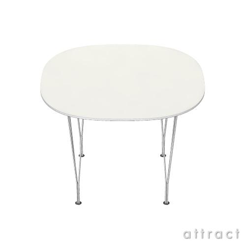 Fritz Hansen フリッツハンセン TABLE SERIES テーブルシリーズ B603 スーパー円テーブル:スパンレッグ テーブル高:72cm 天板:ラミネート:ホワイト (アルミ製フレーム)
