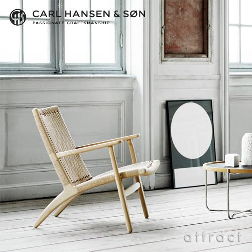 Carl Hansen & Son カールハンセン & サン CH25 ラウンジチェア オーク オイルフィニッシュ デザイン:ハンス・J・ウェグナー